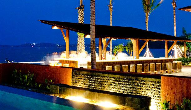 sky water Resort lighting leisure swimming pool evening night Villa
