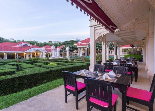 grass property Resort restaurant red hacienda Villa outdoor structure