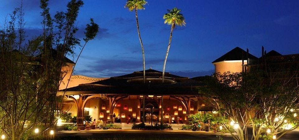 tree sky Resort landscape lighting home lighting Villa mansion hacienda plant