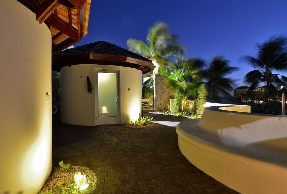 house property night home Villa lighting hacienda Resort mansion landscape lighting swimming pool