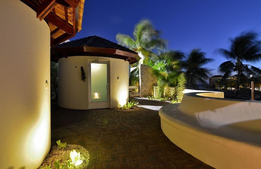 house property night home Villa lighting hacienda Resort mansion landscape lighting swimming pool