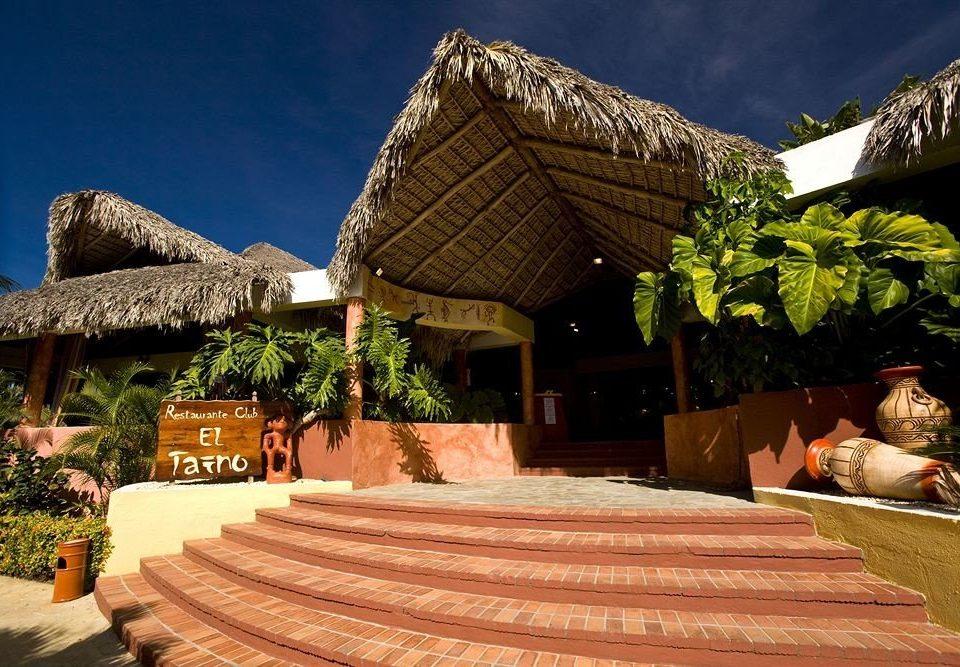 Resort hut travel Villa stone