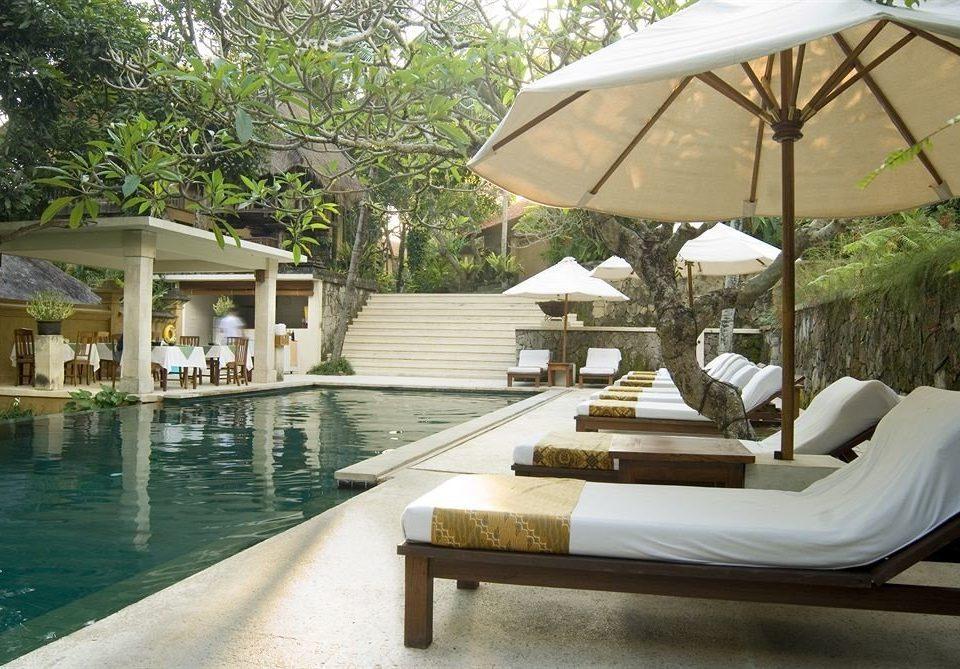 tree leisure swimming pool property Resort Villa porch