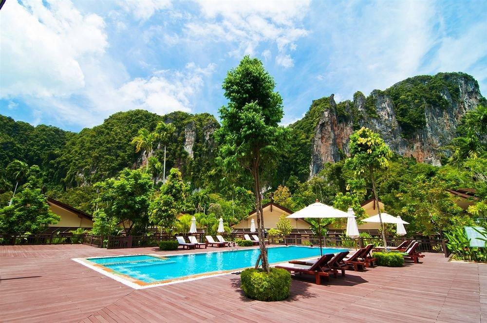 tree leisure swimming pool Resort Villa
