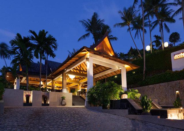 tree sky Resort restaurant palm Villa plant