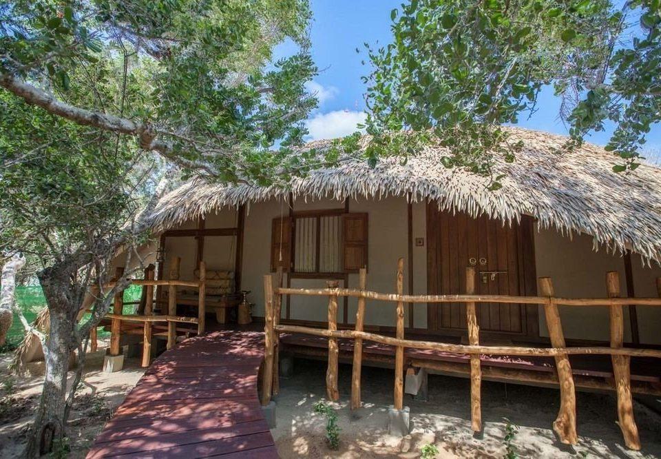 tree property hut Resort house wooden cottage home eco hotel shack log cabin Villa Village roof