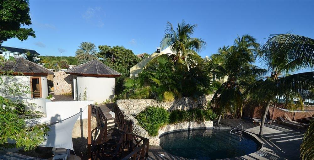tree property Resort Villa swimming pool Village home mansion cottage hacienda plant palm