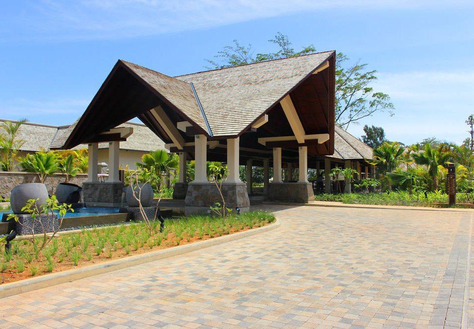 sky property Resort home Villa hacienda Village pavilion