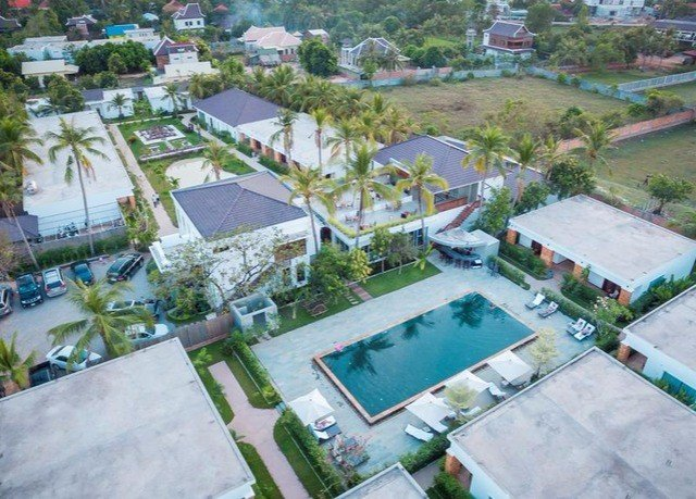 property bird's eye view Resort condominium residential area Water park neighbourhood aerial photography mansion urban design swimming pool plaza park Village amusement park Villa