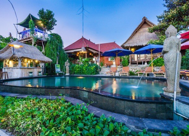 sky swimming pool Resort property leisure green resort town Villa Water park Village mansion colorful colored