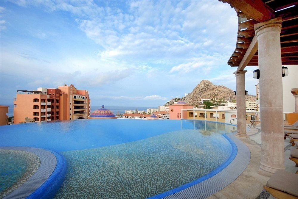 swimming pool property leisure Resort blue condominium Villa Water park mansion shore