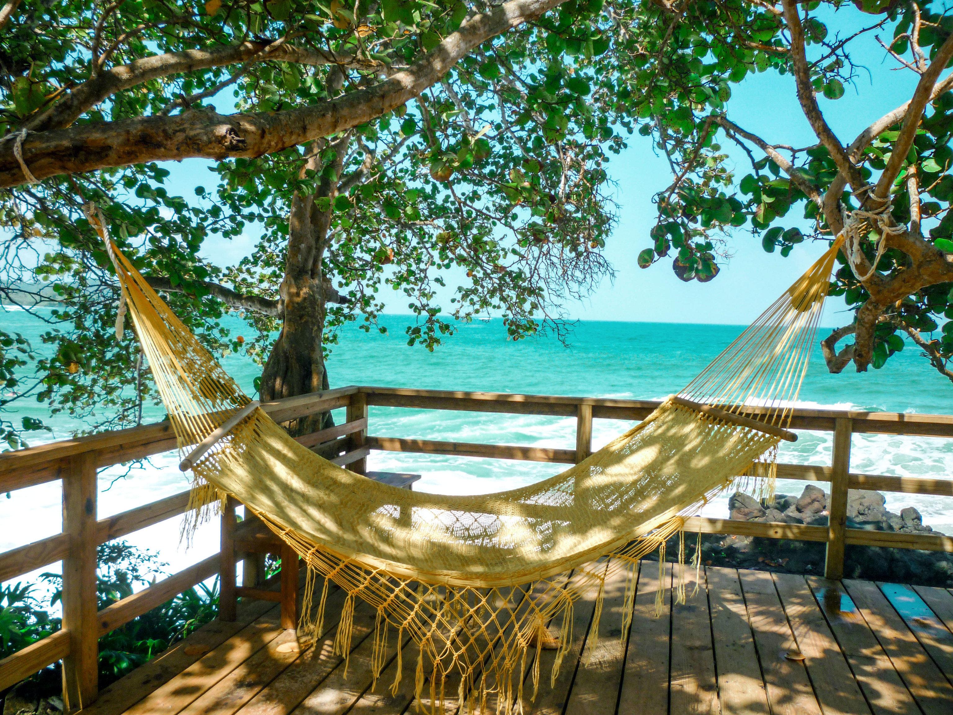 tree leisure swimming pool hammock Resort caribbean Villa Water park tropics overlooking lined