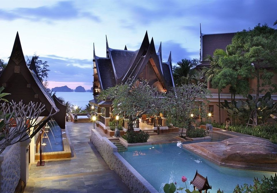 sky Resort building Village amusement park
