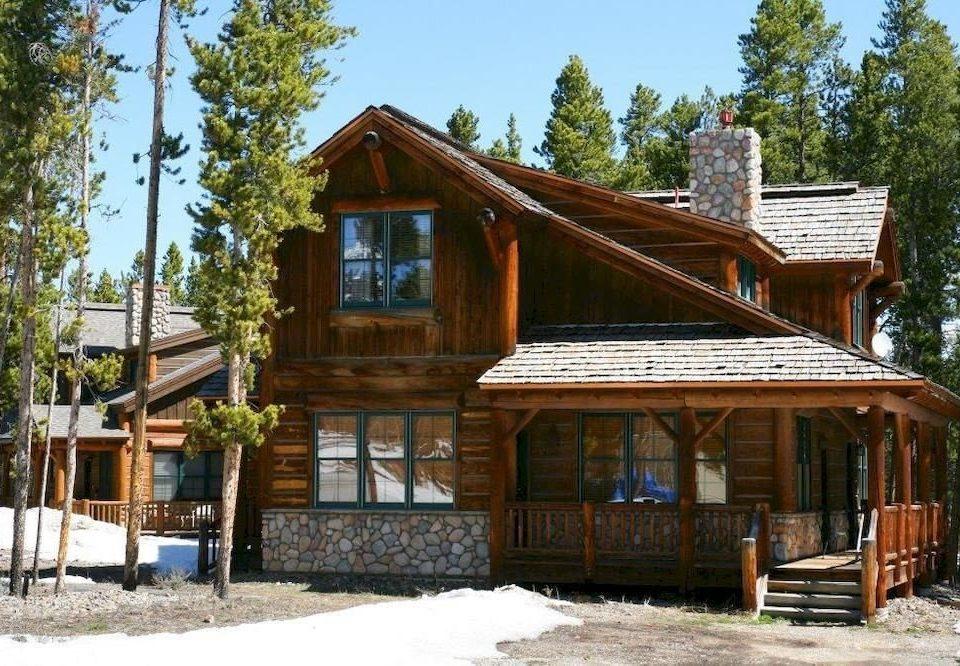 tree building log cabin house home hut wooden cottage Resort shack farmhouse sugar house Village old