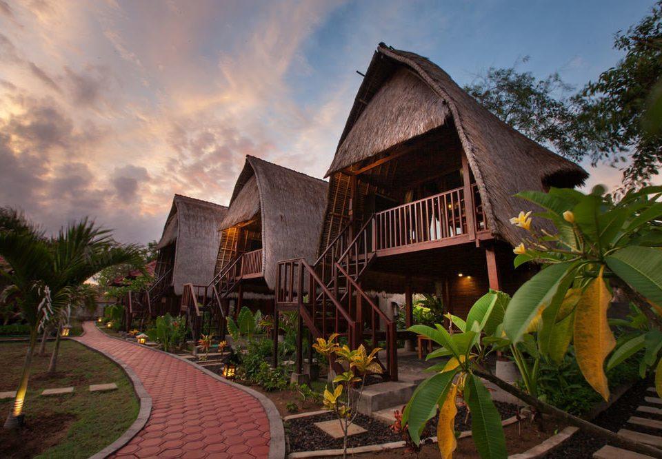 sky house Resort building home Village mansion