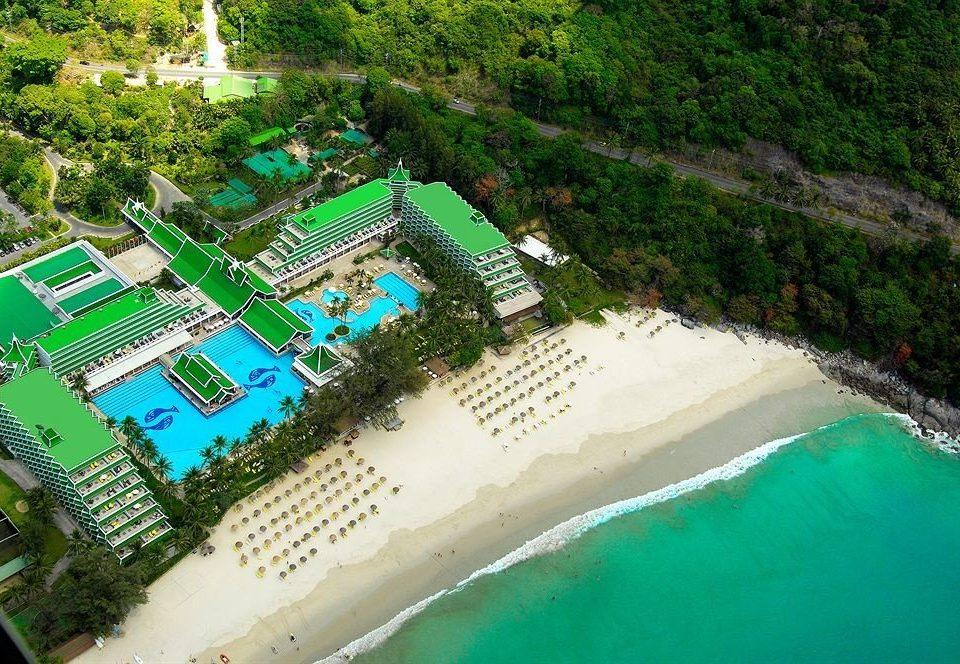 leisure Water park ecosystem amusement park park swimming pool Resort aerial photography recreation