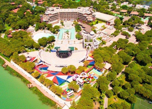 amusement park leisure landmark park bird's eye view Water park Resort outdoor recreation recreation urban design mansion palace aerial photography