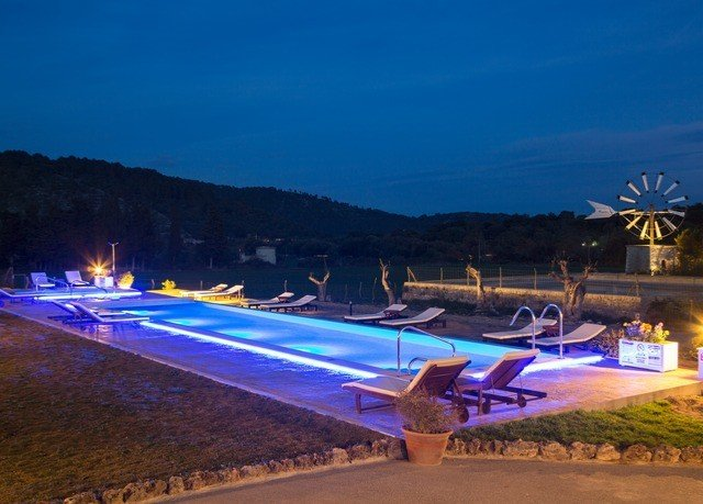 sky leisure swimming pool night atmosphere of earth Resort amusement park Water park shore