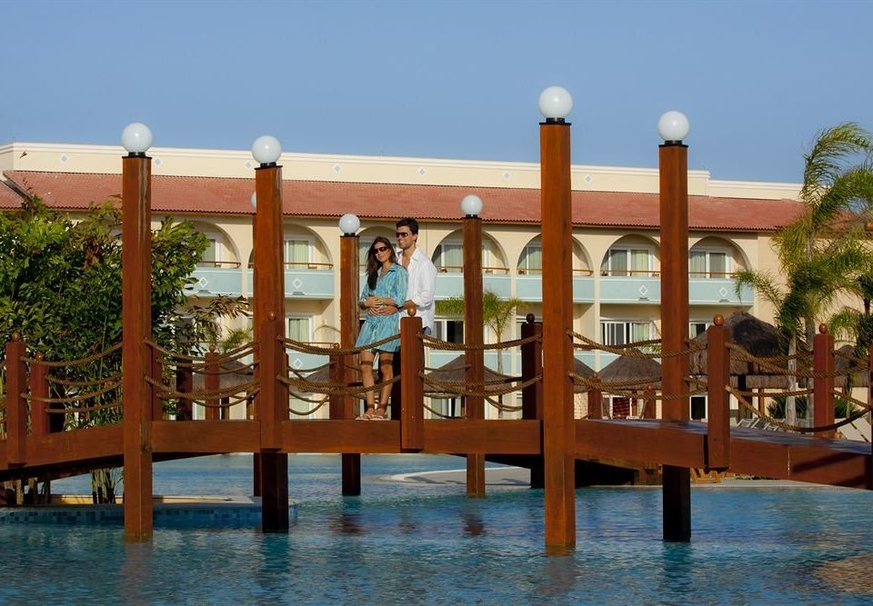 sky leisure property Resort swimming pool wooden hacienda amusement park Water park