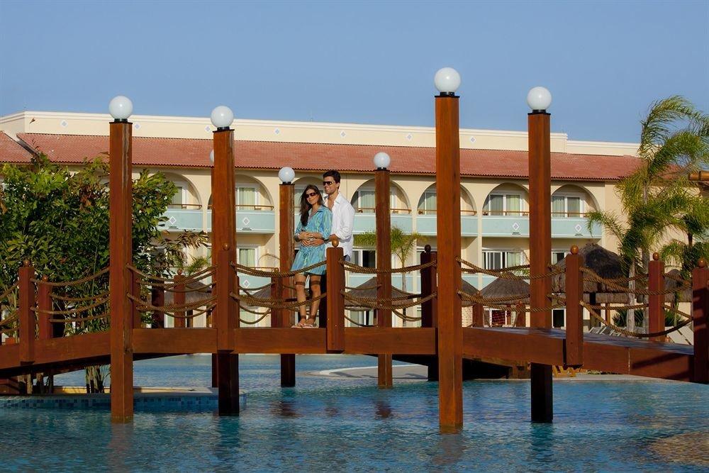 sky leisure property Resort swimming pool wooden hacienda amusement park Water park