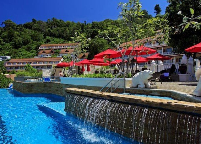 tree sky water leisure Resort swimming pool resort town Water park waterway swimming