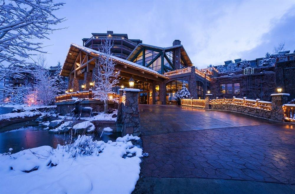 sky snow Winter weather season Resort