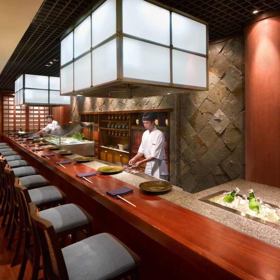 restaurant wooden
