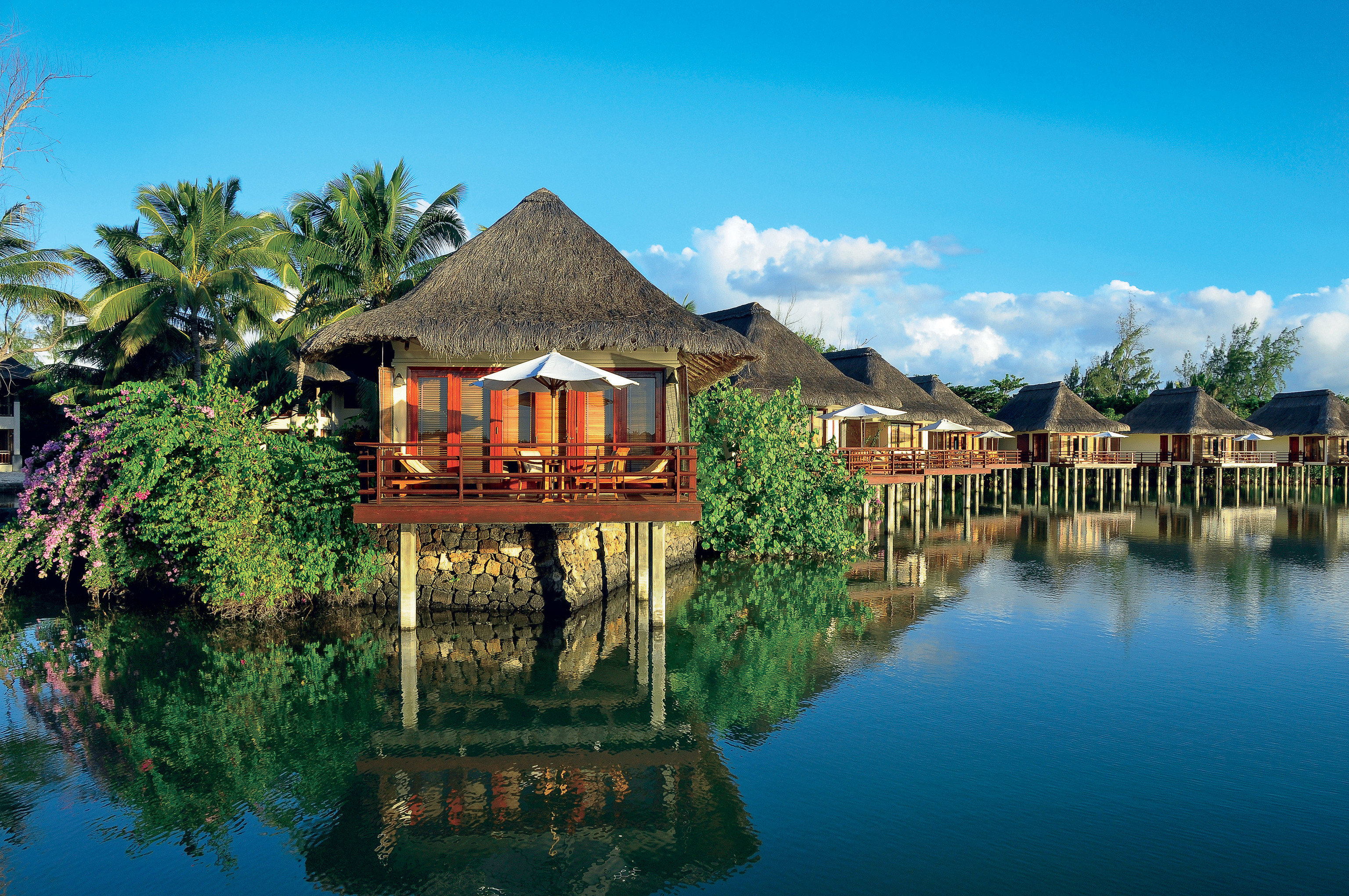 Hotels tree sky outdoor water reflection estate house Resort vacation tourism Lake surrounded Village wood
