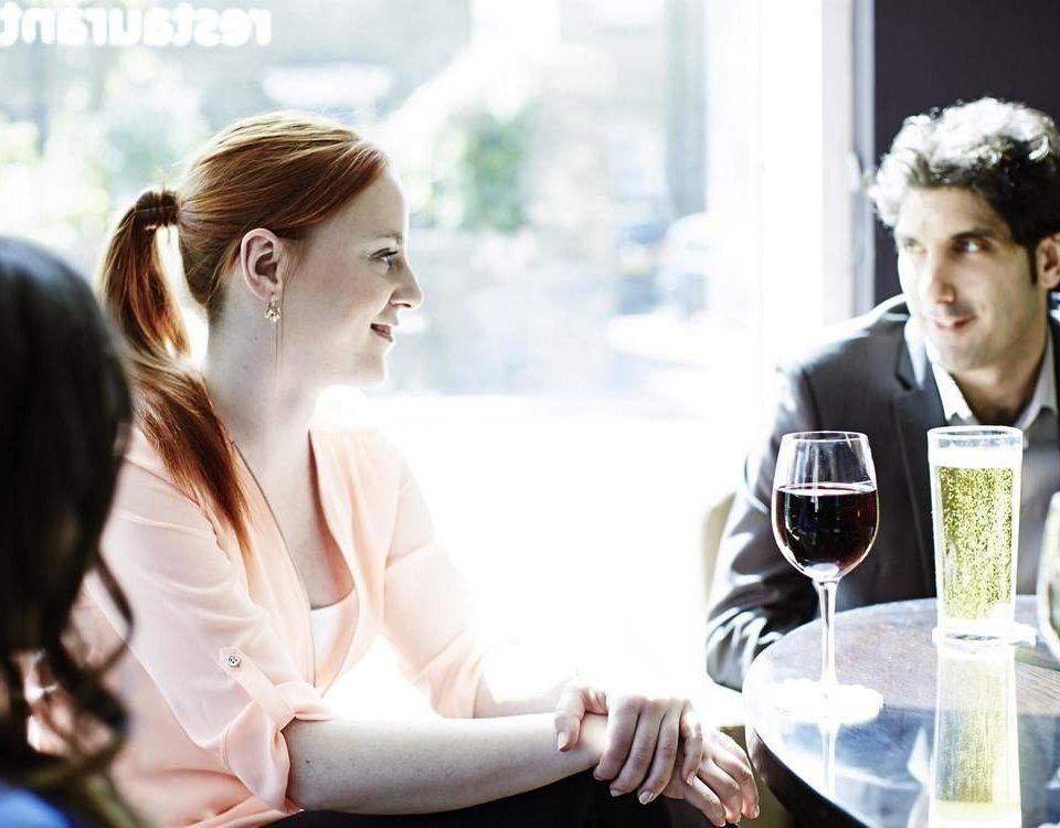 woman ceremony bride conversation groom Romance