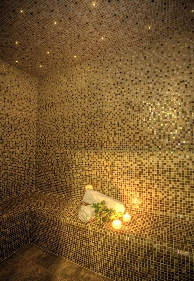 Romantic Spa Wellness light night sunlight lighting texture tiled tile bathroom