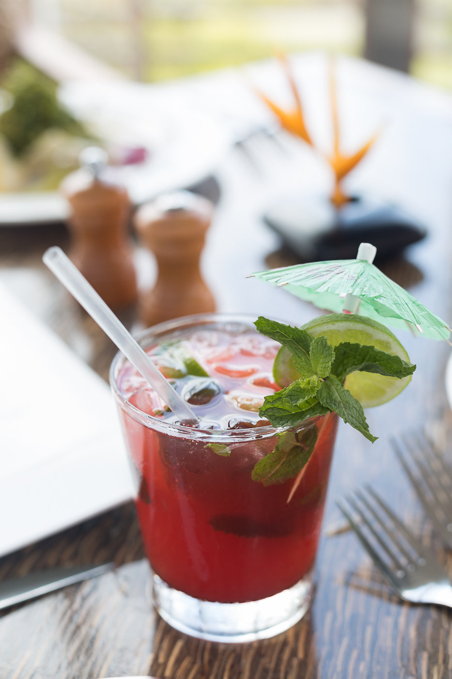 cocktails craft cocktail Drink Food + Drink gourmet Hotels mixology Romance Tropical table cup cocktail alcoholic beverage food non alcoholic beverage mojito mai tai plant mint julep produce