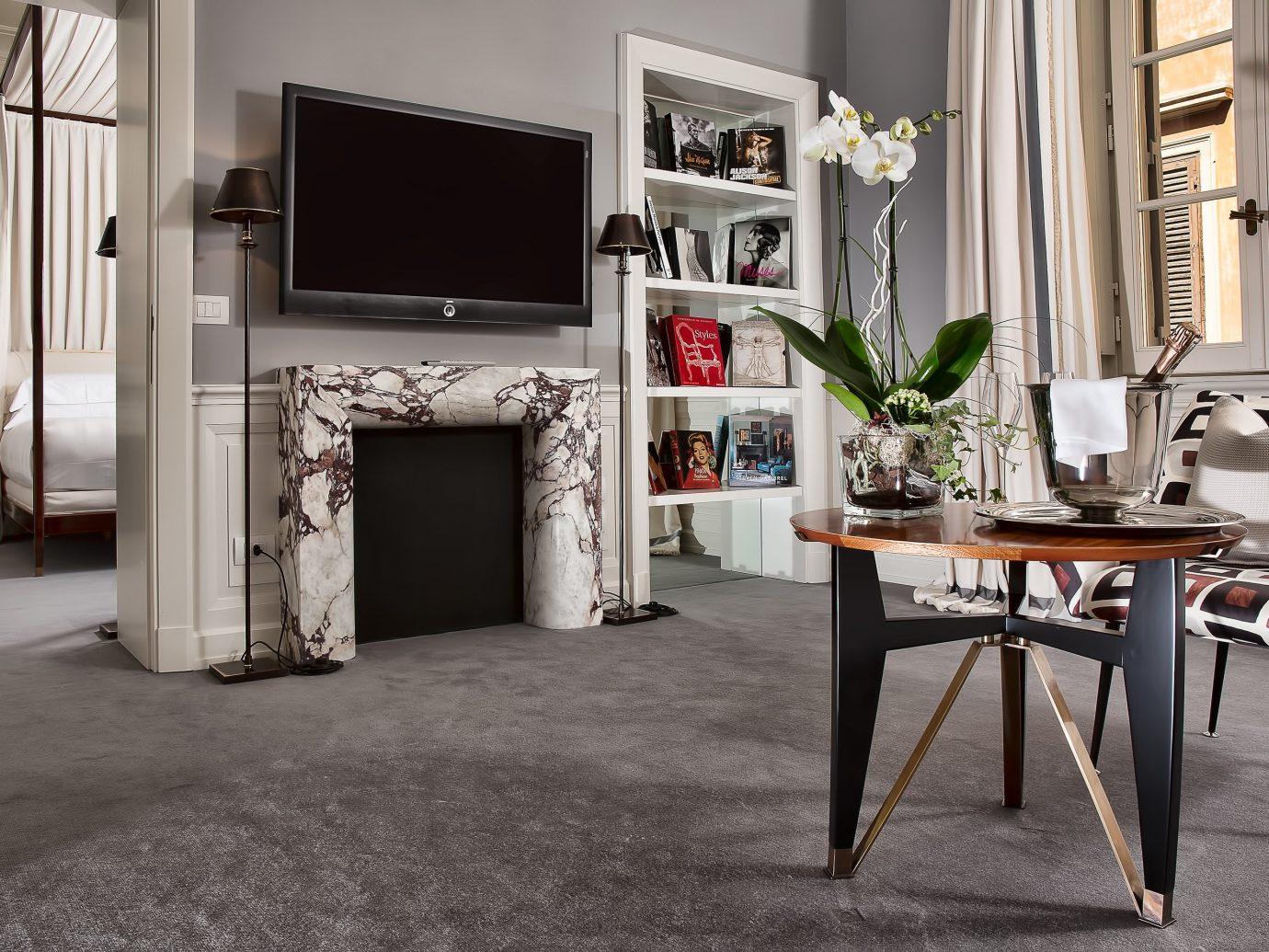 Hotels floor indoor Living room home living room house flooring interior design furniture dining room wood Design estate table hall