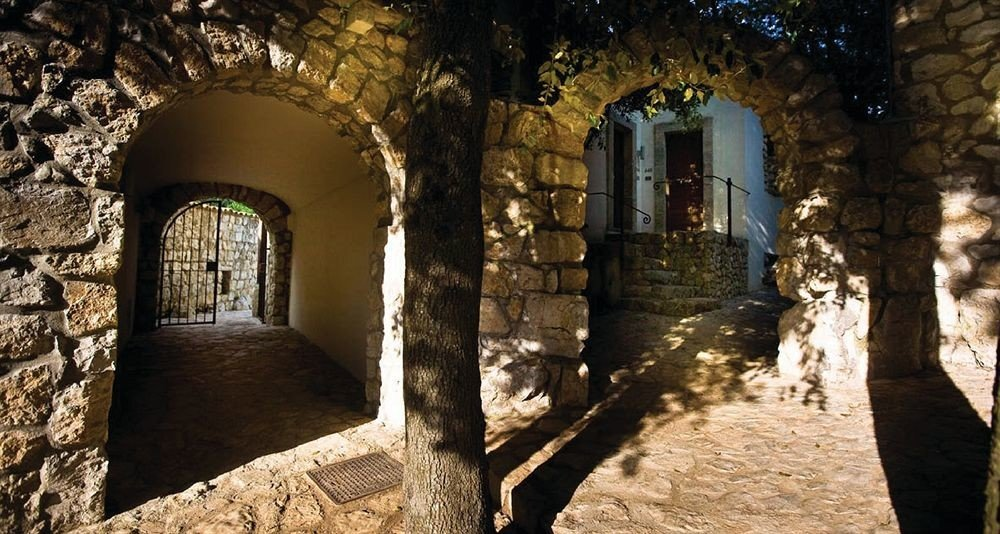 ground building ancient history arch alley stone middle ages temple Ruins chapel monastery