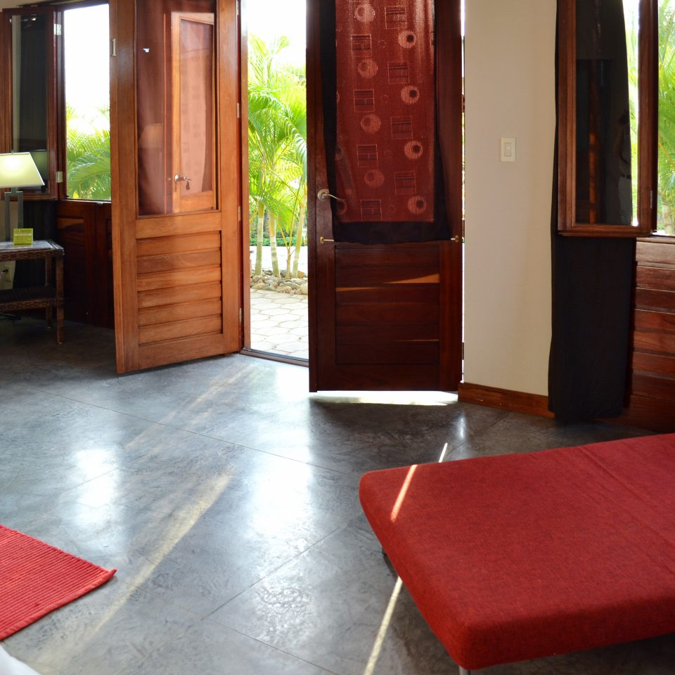 Rustic red property hardwood Suite cottage flooring