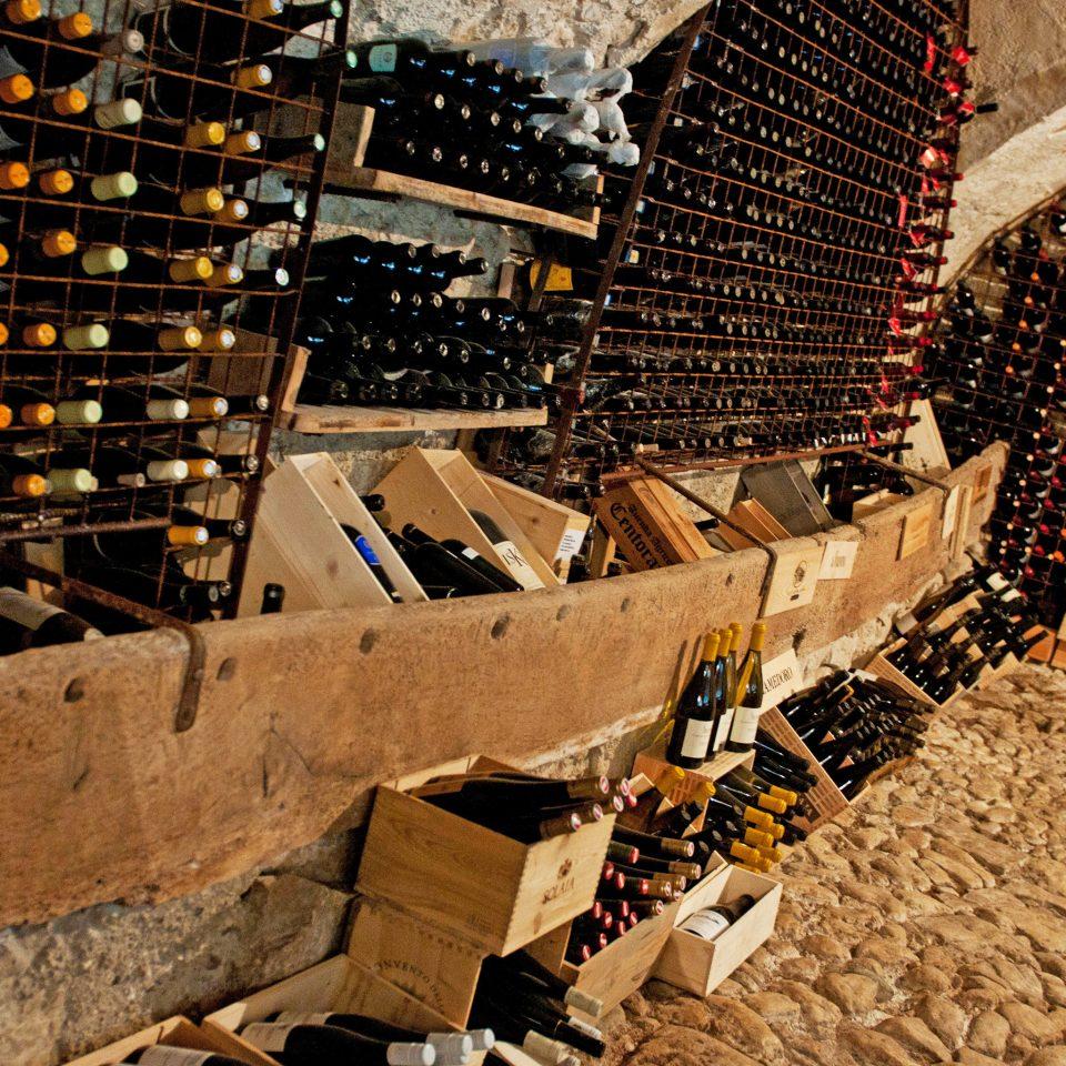 Rustic Wine-Tasting Winery basement ancient history