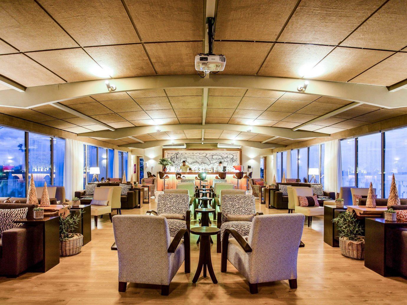 Cruise Travel Luxury Travel Outdoors + Adventure Trip Ideas indoor ceiling floor restaurant room interior design function hall Lobby area furniture