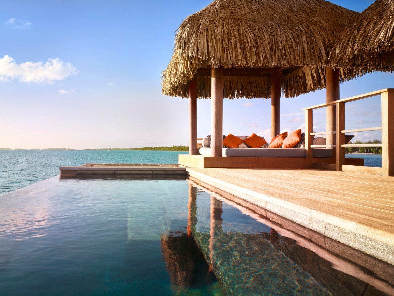 Hotels sky water outdoor leisure vacation Resort swimming pool Sea Ocean Beach estate Villa caribbean Lagoon bay shore