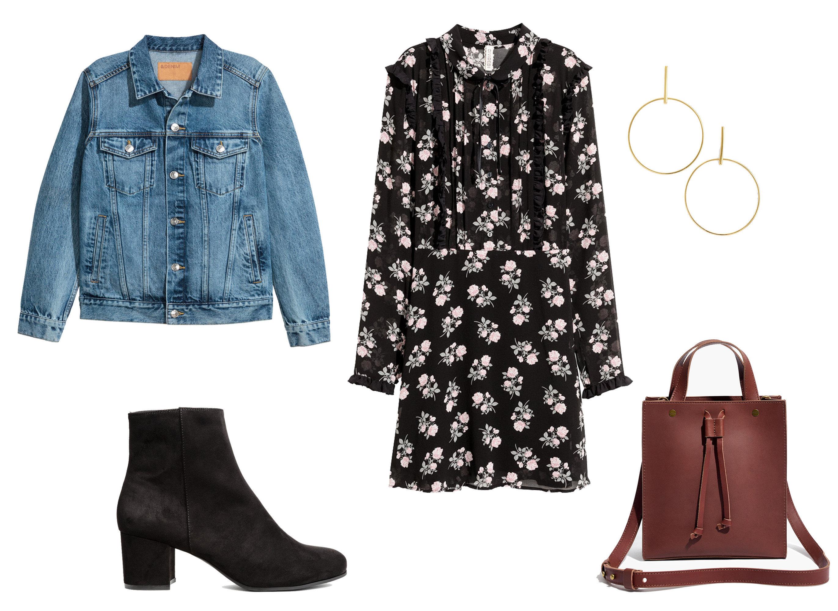 Style + Design fashion denim jeans product shoe pattern