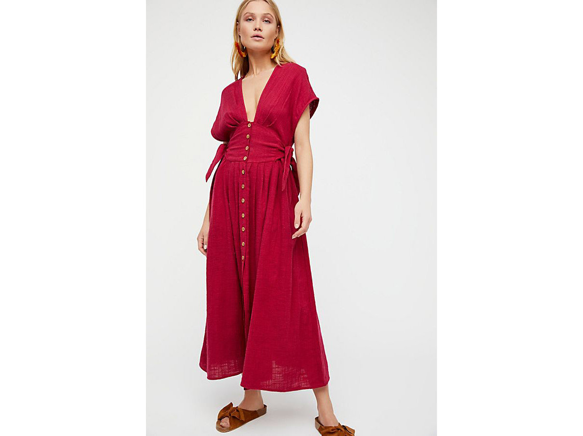 City Palm Springs Style + Design Travel Shop clothing dress day dress standing magenta robe fashion model neck costume gown sleeve nightwear