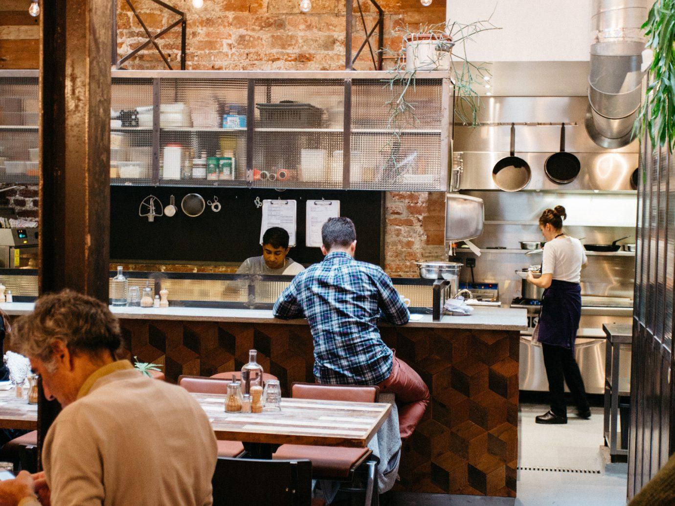 Food + Drink person indoor interior design art Design restaurant tourist attraction