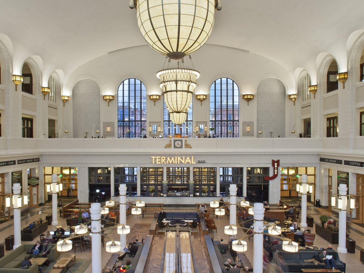 Trip Ideas Weekend Getaways Winter building indoor Lobby institution library interior design ceiling symmetry synagogue counter arcade estate shopping mall hall