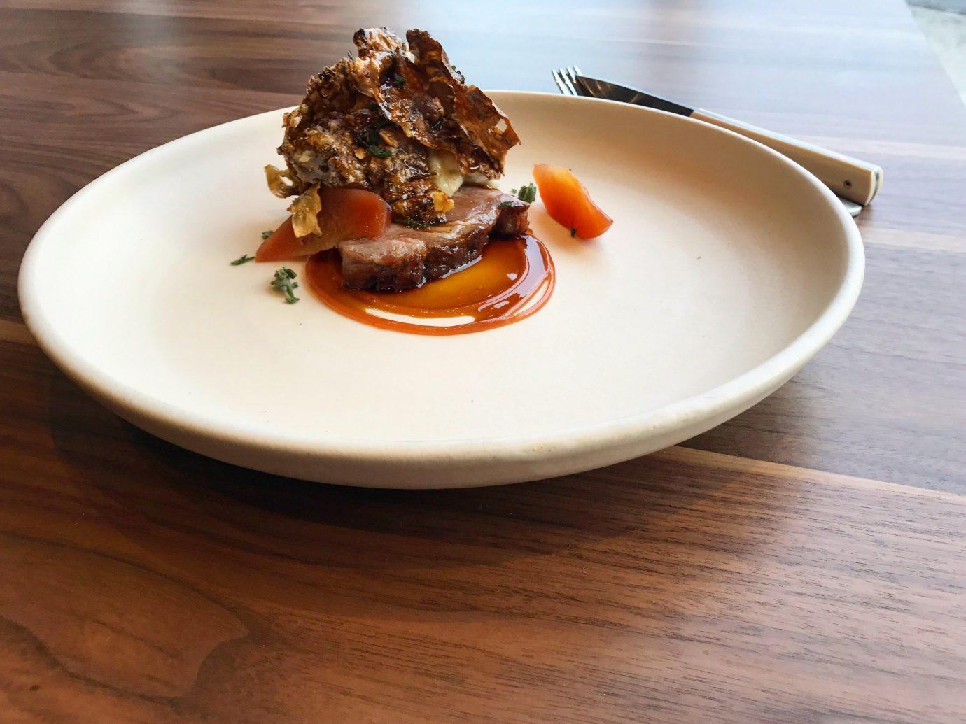 Food + Drink plate table food dish indoor meal produce breakfast meat cuisine vegetable dessert piece de resistance