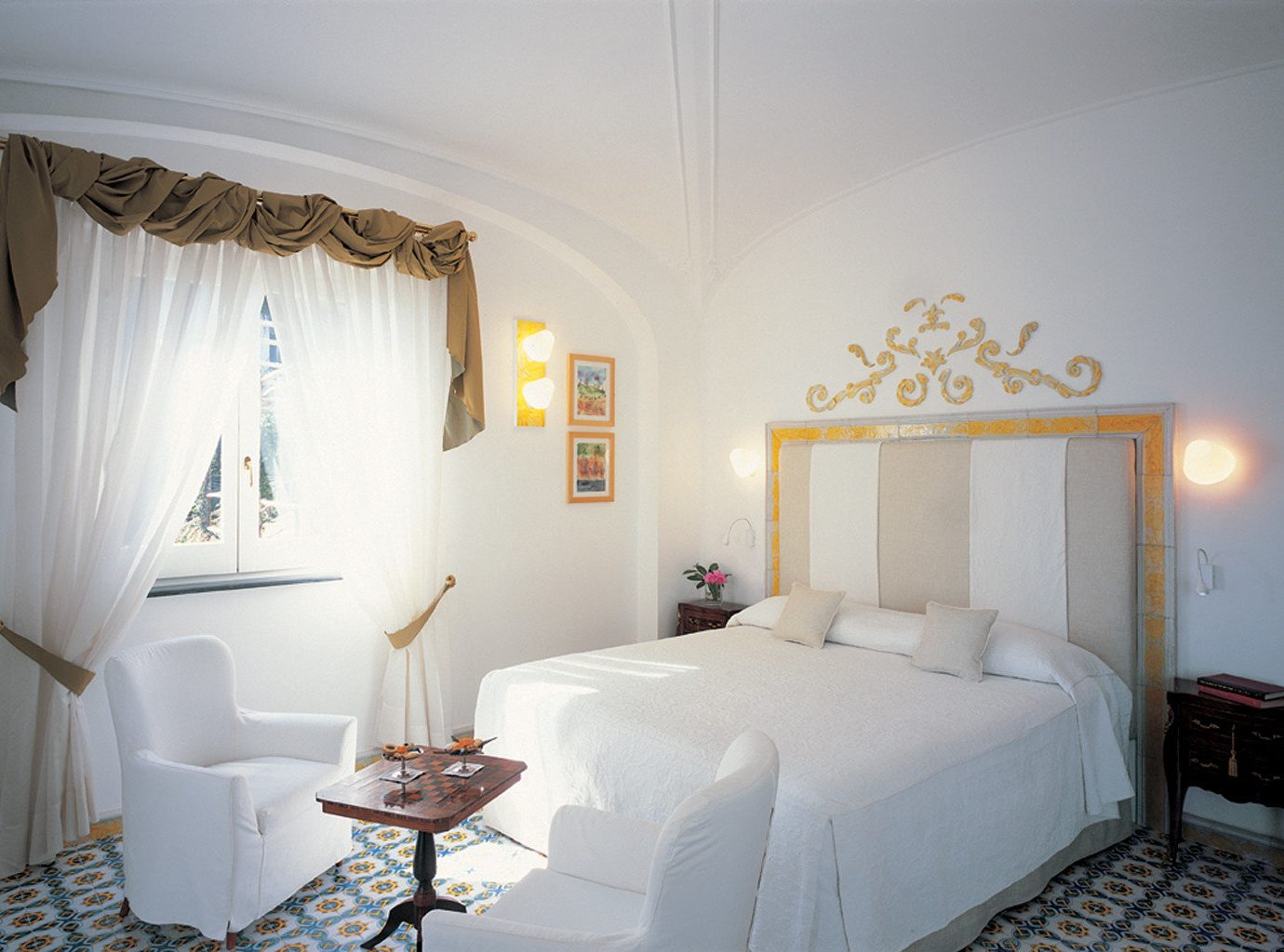 Bedroom at Hotel Santa Caterina, Amalfi