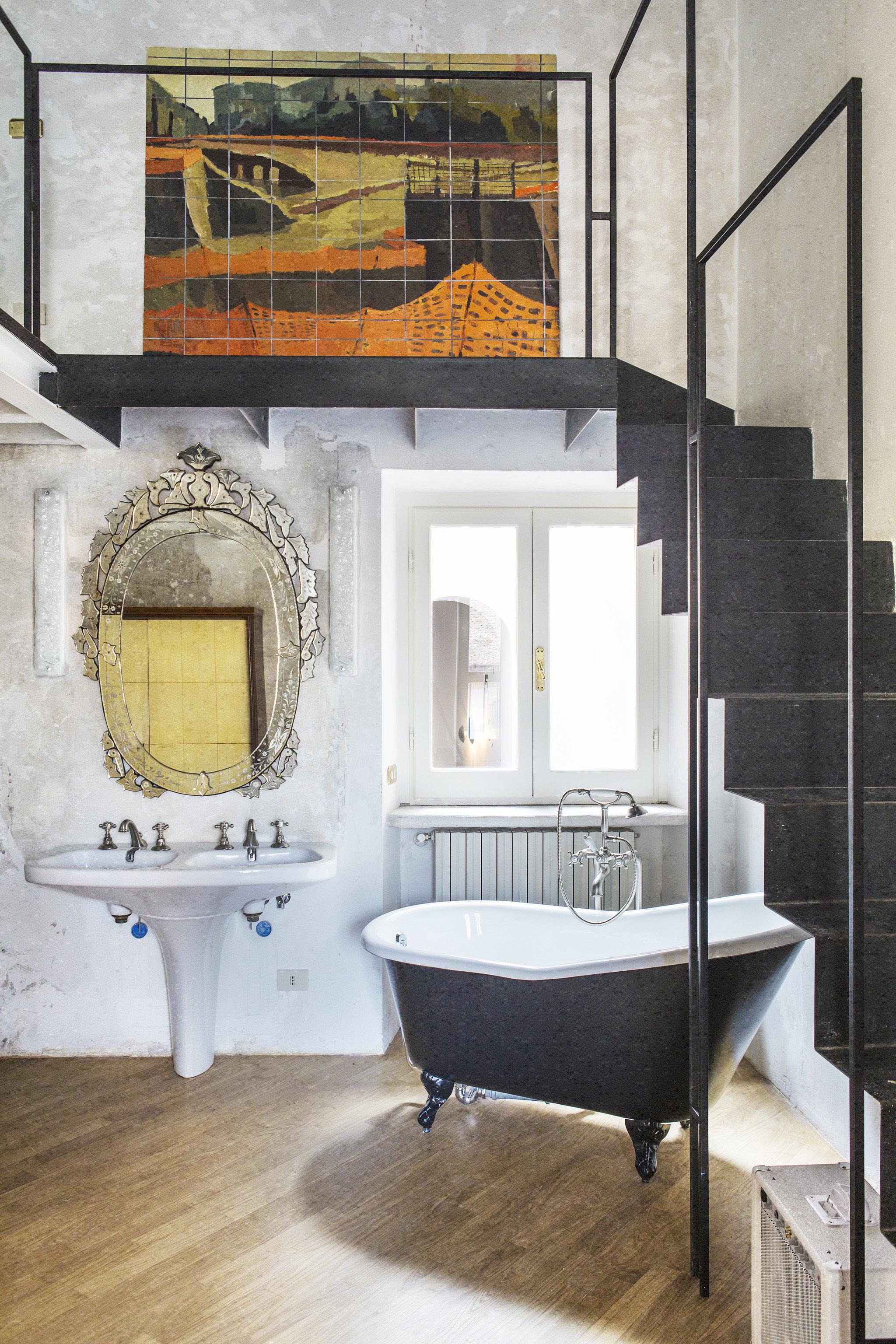 Hotels indoor floor wall room bathroom house living room home interior design flooring Design tile estate furniture plumbing fixture