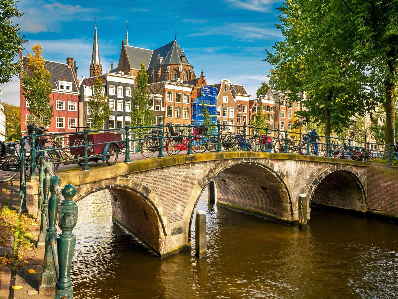Travel Tips tree outdoor water Canal River landform geographical feature waterway body of water Town channel bridge cityscape