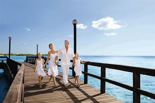 sky water leisure walkway pier caribbean boardwalk Sea shore