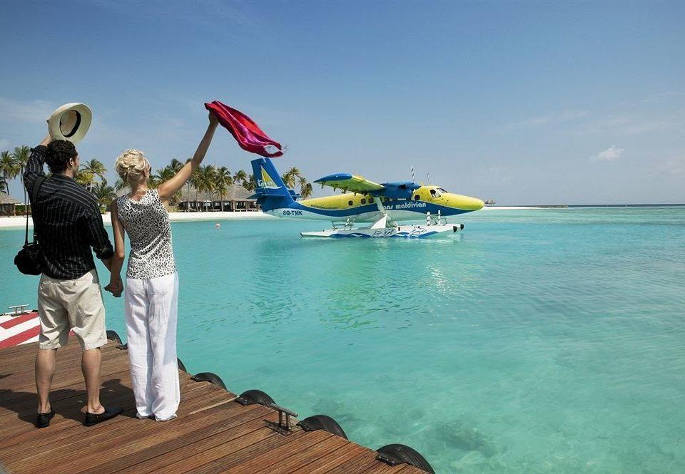 sky water Sea vehicle boating caribbean
