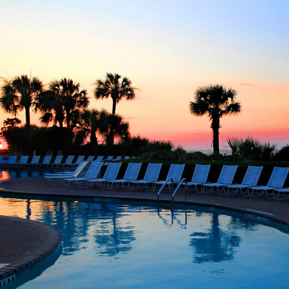 water sky Sunset dusk evening morning Sun swimming pool Sea dawn sunrise overlooking