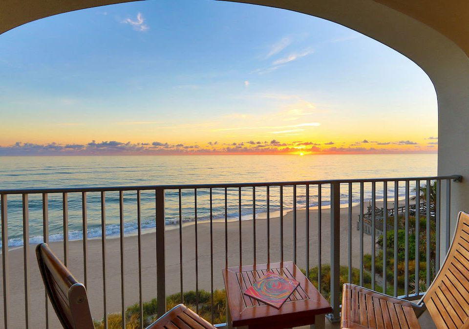 sky water property overlooking morning Sea Sunset set arch