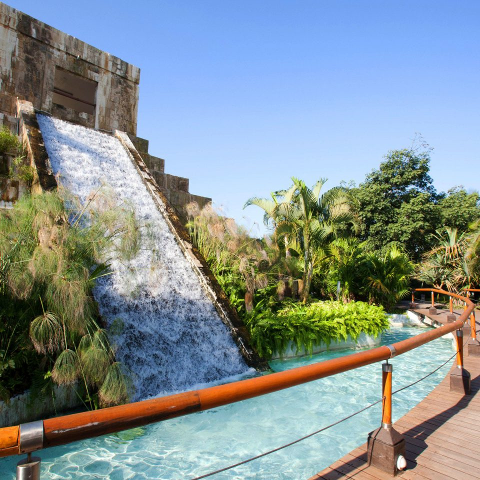 sky tree leisure water swimming pool Sea Villa railing